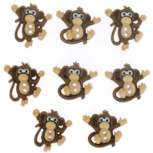 7678 - Sew Cute Monkeys