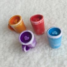 하트머그컵(4개 set)-색상 랜덤