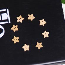 별 원목 단추(10개 set)