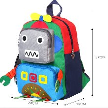 프리마켓 완제품-ju1618 로봇백팩