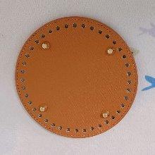 인조가죽 가방바닥 원형